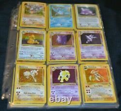 Complete Set of Unlimited Fossil All 62/62 Pokemon Trading Cards TCG Game WOTC