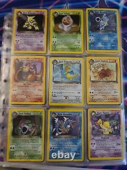 Complete Team Rocket Pokemon Card Set 83/82