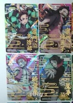 Demon Slayer Vending Machine Stained Glass Card Complete Set Kimetsu no Yaiba