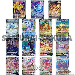 Eevee Heroes Special art all complete set, Pokemon Card S6a