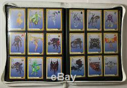 FINAL FANTASY VIII CCG Carddass Masters Triple Triad 182/182 Cards COMPLETE Set