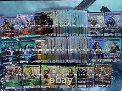 Final Fantasy Tcg Opus 1 I Complete Foil Set Cloud Sephiroth Tifa (retail $2557)