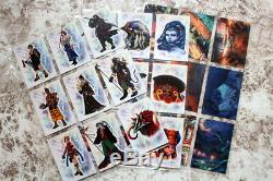 Final Fantasy X Official Trading Card Art Museum S28-S54 Complete sets 27 Cards