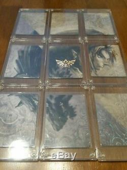 GOLD Foil COMPLETE FULL SET- 2007 Legend of Zelda Twilight Princess Cards G1-G9