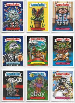 GPK Garbage Pail Kids Oh the Horror-ible Complete 200 Card Set Plus Wrapper