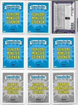 GPK Garbage Pail Kids Revenge of Oh the Horror-ible Complete 200 Card Set Wraper