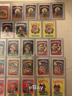 Garbage Pail Kids 1985 1st Series OS1 Complete 82 Card Set With Variations AB