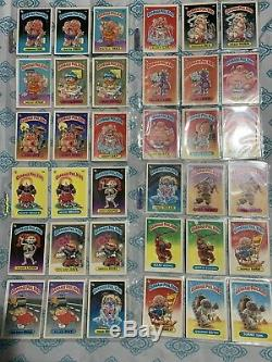Garbage Pail Kids 1985 Series 1 Complete Set A&B 82 Cards GPK OS1 First Series