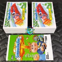 Garbage Pail Kids 2014 1st Series 1 Complete 132-card Gpk Set +wrapper S1 L@@k