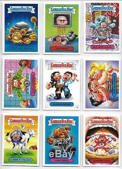 Garbage Pail Kids 2018 We Hate the 80's Complete 180 Card Set