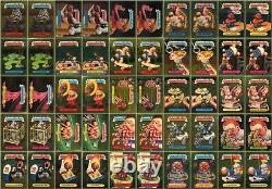 Garbage Pail Kids Ans3 Complete 50-card Gold Foil Set 2004 All-new Series 3