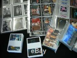 HUGE Lot of Star Trek Card SETS OVER 20 Complete Sets Take a Look