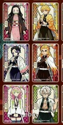 Kimetsu no Yaiba Demon Slayer Stained Glass Card Pack ver Complete Set 20 types