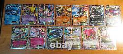 LP/NM Complete MASTER Pokemon XY FATES COLLIDE Card Set Full Art Reverse Holo