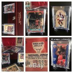Michael Jordan Lot For The Serious Collector. Rookie, Complete 8687 Fleer Set