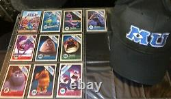 Monsters University Scare Card Complete Set Collection Disney Park Projectionist