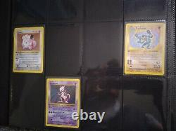 NEAR COMPLETE 1ST EDITION BASE SET Pokémon Cards ALL FIRST ED SHADOWLESS