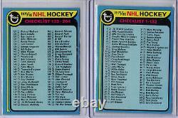 NHL 1979-80 Topps Hockey Complete Set Wayne Gretzky Rookie Rc 1-264 Nice Set