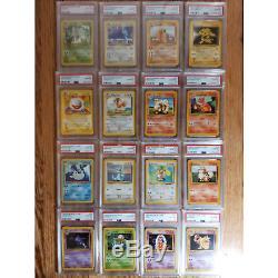 PSA 10 Unlimited Base Set 1999 Pokemon Cards COMPLETE SET Charizard