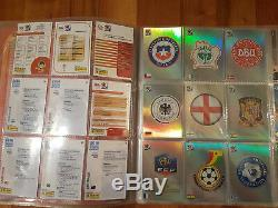Panini WORLD CUP 2010 Complete Trading Cards set and binder Black NOT Adrenalyn