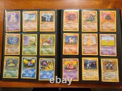 Pokemon 100% Complete 151/150 Set Base 1- Jungle Fossil Original Cards