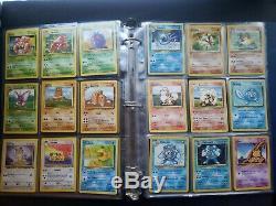 Pokemon 151 Set Complete Original Classic Cards -Base, fossil, Jungle 35 Holos
