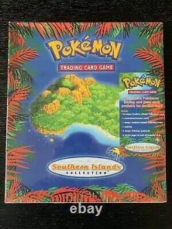 Pokemon 2001 Southern Islands Collection Complete 18 Card Set (Mew) Sealed