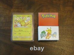 Pokemon 25th Anniversary McDonalds Promo Complete Master Set Holo+Non 50 cards