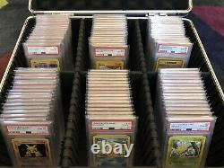 Pokemon Base Set Complete 102/102. All Cards PSA 10. Ultra Rare Investment