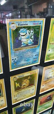 Pokemon COMPLETE SET! Base, Fossil and Jungle All 151 framed Pokémon cards