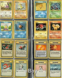 Pokemon Card Base Set Complete 102/102 Charizard Blastoise Venusaur PL-EX/NM