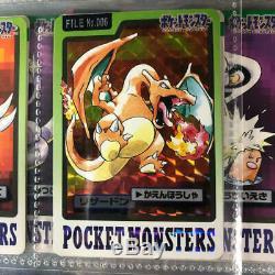 Pokemon Card CARDDASS 151 Complete set BANDAI Charizard Mew Mewtwo Pikachu