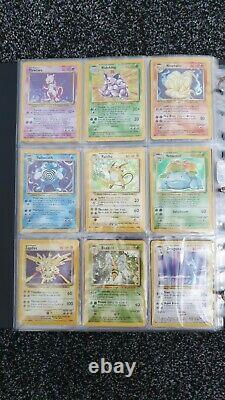 Pokemon Card Complete Base Set Bundle 102/102 WOTC Inc. 1st Edition Machamp