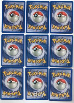 Pokemon Card Gym Heroes Set Complete Sabrina's Gengar Rocket's Moltres NM-Mint