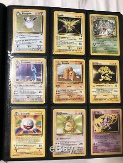 Pokemon Cards Base Set 2 Complete Set NM-Mint 130/130 Holo Rares WOTC Charizard