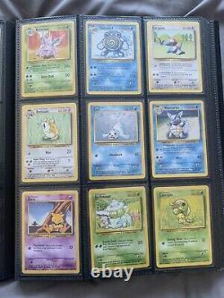 Pokemon Cards Base Set Complete 102/102 Wotc