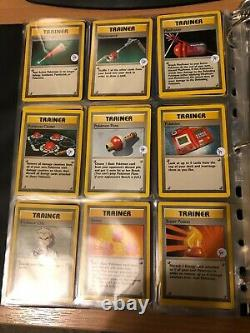 Pokemon Cards COMPLETE Original Base Set Fantastic Condition