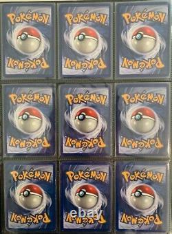 Pokemon Cards Complete Base Set 102/102 Charizard Blastoise Venusaur