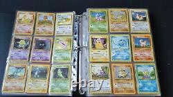 Pokemon Cards Complete Base Set Unlimited 1999 Charizard Venusaur Blastoise