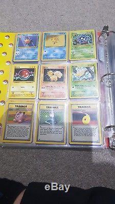 Pokemon Cards Complete Original Base Set 102/102