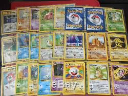 Pokemon Complete Base Set 2 130 Original Cards Charizard, Blastoise, Venusaur