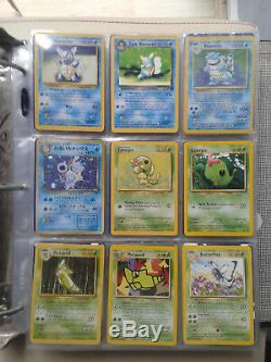 Pokemon Complete Original 151 Set Base fossil 396 cards 90 Holos x3 Charizard