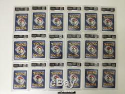 Pokemon Complete Psa 9 /8 Gym Heroes Card Set Mint /132 Holo Rare 1st Edition
