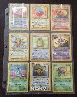 Pokemon Rare COMPLETE Unlimited Jungle Set 64/64 100% Original Classic Cards