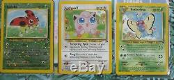 Pokemon Southern Islands Complete Collection Set 18 Cards + Original Binder WOTC