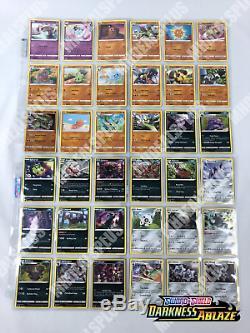 Pokemon TCG DARKNESS ABLAZE COMPLETE 155 CARD SET ALL HOLO RARE UNC COM