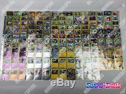 Pokemon TCG SWORD & SHIELD MASTER SET COMPLETE 381 CARD SET ALL REVERSE HOLO
