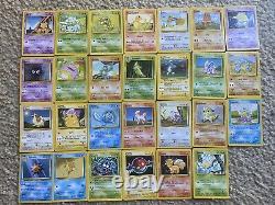 Pokemon base set complete all cards 102/102 Charizard, Blastoise, Venusaur