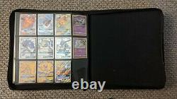 Pokemon cards Hidden Fates 100% complete set with promos, pack arts and binder