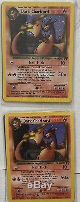 Pokemon cards Team Rocket Complete Set Inc Dark RAICHU 83/82 Secret Rare Mint